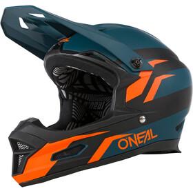 O'Neal Fury RL Kask rowerowy, petrol/pomarańczowy